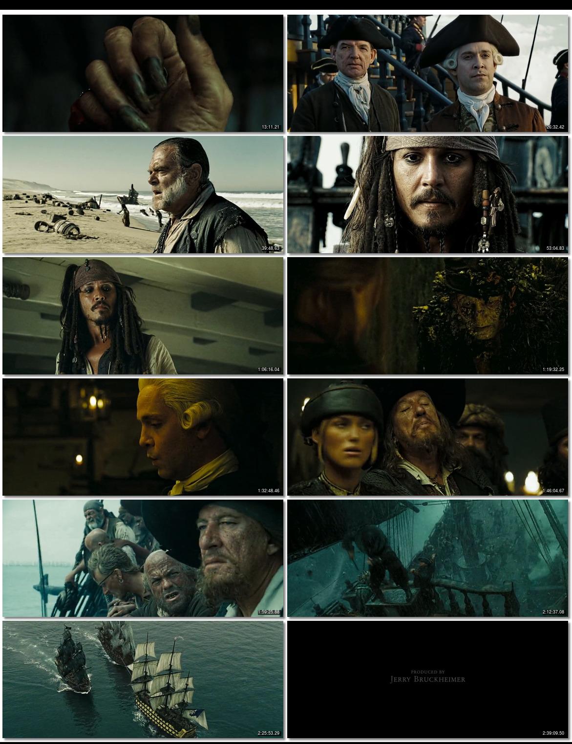 Pirates of the Caribbean 3 At Worlds End (2007) 720p BDRip ...
